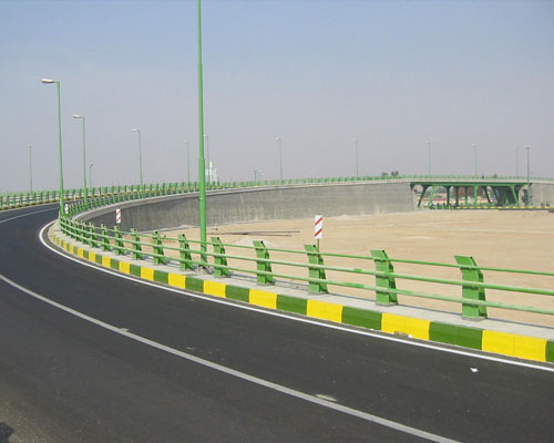 Mahshahr airport bridge